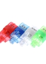 2016 populares LED luces del dedo láser intermitente anillo del haz luminoso colorido de la antorcha de luz se iluminan en concierto decorativo del partido del juguete de los apoyos de los niños Material 20/40 / 100pcs