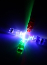 2016 Popular LED Finger Lights Laser Flashing Ring Light Beam Colourful Torch Light Glow Lamps Concert Decorative Props Children's Toy Party Supplies 20/40/100pcs