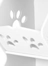 Scaffale di stoccaggio lavabile a 3 scomparti