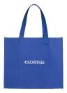 Esonmus 6pcs / set Multipurpose réutilisable non-tissé grande épicerie sacs fourre-tout pliable sacs à provisions stockage sacs à main avec double poignées renforcées