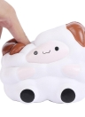 Soft Cute Cartoon Big Sheep Simulation Toys Antistress Squishy Slow Rising Toy Squeeze Stress Reliever Diversão Kid Gift