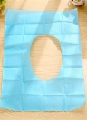 1 Pack 10Pcs Toiletery Paper Pad Travel Disposable Sterile Toilet Seat Cover Mat Bathroom Accessiories Sanitary Tool