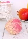 Realistico finto pesca artificiale Really Fruit House cucina decorazioni fotografia puntelli - Confezione da 10