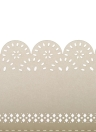 50Pcs Romantic Table Mark Carved Pattern Name Place Card for Wedding Birthday Banquet Decoration