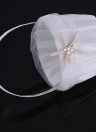 Romantic Wedding Satin Flower Basket Cute Small Flower Girl Basket for Wedding