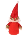 Festnight Hot Sale XMAS Lovely Decors Doll Christmas Santa Claus Snowman Dolls for Window Decoration Dinner Table Decorations Gifts Home Hotel Party Decor Supplies