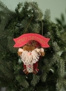 Festnight Lovely Christmas Santa Claus Snowman Hanging Pendant Ornament Xmas Tree Door Decor Festival Party Decorations