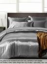 Silk-like Bedding Set Well-made Duvet Cover Set Silky Smooth Soft Duvet Cover & Pillowcase Sets