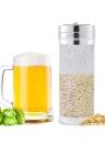 400 microns Mesh en acier inoxydable Biscuit à la bière Dry Hopper Home Filtre à la bière Filtre à houblon
