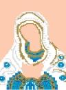 DIY handgemachte 5D Diamant-Anstrich-Christentum-Charakter-Muster-Dekoration für Wohnzimmer-Schlafzimmer-Studie