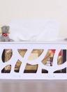 Articolo domestico creativo del bricolage DIY Articolo speciale del contenitore del tessuto di ordine Contenitore di tovagliolo di rettangolo del contenitore di tovagliolo di carta impermeabile dell'acqua
