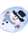 Suave de poliéster muñeco de nieve de Navidad asiento de tocador de la cubierta de Navidad Closestool decoraciones adornos para el cuarto de baño