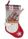 3pcs / set Natal Santa Snowman Rena com doces Bolsas com colher meias