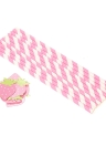 50pcs / set Bere di carta eliminabile del fumetto di colore per le decorazioni delle decorazioni del partito della piscina di compleanno di compleanno rifornimenti - fragola