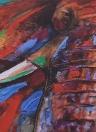 50 * 50cm HD impresso Frameless Elephant Head Canvas Pintura Wall Art Pictures Decoração para casa Sala Quarto Quarto