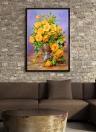 NAIYUE 12 * 16 inches/30 * 40cm DIY 5D Diamond Painting Kit Flower Resin Rhinestone Mosaic Embroidery Cross Stitch Craft Home Wall Decor
