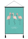 Flamingo Tapestry Wall Art Tapestries Tropical Home Decorative Door Curtain Living Room Bedspread Sheet Table Cloth Hanging Blanket Carpet 1#