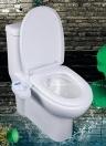 Bidet de salle de bains réglable Jet d'eau douce Jet d'eau non-électrique Bidet mécanique Siège de toilette 15/16