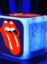 7 Changing Colors Multi-function LED Digital Alarm Clock Cube Glowing in the Dark Home Decor Famous Rock Band Girls Boys Style 1