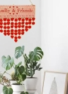 DIY Holz Familie Freunde Geburtstagserinnerung Besondere Termine Planer Board Holz Kalender Home Hanging Decor Geschenk Stil 1