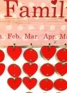 Fai da te Legno Famiglia Amici Compleanno Promemoria Date speciali Planner Board Calendario di legno Home Hanging Decor Gift Style 1
