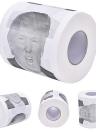 Rollo de papel higiénico Novedad Gaceta de regalo divertido Gag con Trump