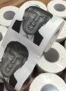Toilet Paper Roll Novelty Funny Gag Gift Dump with Trump