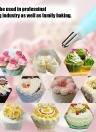 Baking Tools A Set of Small Decoration Nozzle Silicone Decoration Bag Converter Cookie / Cream Cake Squeeze