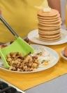 Dossier multifonctionnel intelligent de nourriture de gel de silice de catégorie comestible rouge de 9 pouces