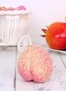 Реалистичный поддельный персик Искусственный лифтевидный фруктовый дом Кухонные украшения Фото реквизит