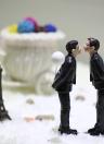 Lindo y divertido resina sintética de la novia y el novio toalla de pastel de bodas romántica decoración de la boda decoración estatuilla regalo de artesanía