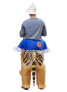 Anself Mignon Adulte gonflable Tiger Costume Costume Blow Up Fancy Dress Party Festival gonflable Outfit Jumpsuit Belle gonflable Costume d'animal Pour Hommes Femmes