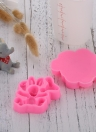 Baby Animal Rabbit Lion Elephants Giraffes Monkey Candy Jello 3D Silicone DIY Cake Chocolate Moulds Tools Cartoon Sugarcraft Cookies Baking Molds