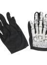 Full Finger Horror Squeleton Gloves Ghost Skull Bone Gloves Costume pour Halloween Cosplay Jeu de rôle pour ados adultes