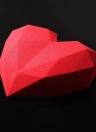 Cuadrado 3D burbujas Nube de silicona / diamante Amor en forma de corazón pastel de pastelería Mousse Bricolaje Craft molde Biscuit herramienta para hornear Fondant Jelly Brownie Chocolates Postre Decoración Nonstick Mold