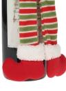 Stile Elf Stile Bottiglia di vino di Natale Copertura Coppa di avvolgere di Champagne Ornamenti di decorazione di Natale