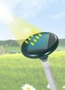 Répulsif de rongeurs à ultrasons alimenté par ultrasons solaire avec la lumière de LED Moles extérieures Reptiles Reptiles repoussant