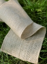 Jute Linen Rolls Hessian Ribbon Vintage DIY Ornament Burlap Home Decor Birthday/Wedding Party Decoration