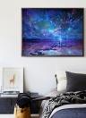 5D DIY Diamond Painting Beautiful Sunglow Sunset Rhinestone Embroidery Home Decor Gift
