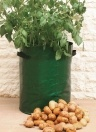 Potato Grow Bag with Handles Fabric Pouch 10 Gallon PE Grow Bag for Growing Tomato Vegetable Gardening Accessory