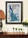 5D Diamant Stickerei DIY Diamant Malerei Pfau Bild eingefügt Strass Wohnkultur Geschenk