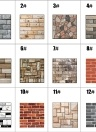Vintage Self Adhesive Wallpaper Brick Removable 1pc 30*30cm Modern Home Decor Waterproof Wall Covering 3D DIY Wallpapers (512)