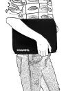 Saco de armazenamento de leitor de cartão de fone de ouvido de cabo de dados de pacote de recebimento de viagens digitais