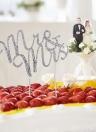 Romantic Wedding Cake Topper Bling-bling Rhinestone Party Wedding Decoration