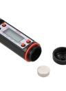 Meat Thermometer Digital Cooking Thermometer with Instant Read LCD Screen Anti-Corrosion Best for Kitchen Grill BBQ Milk and Bath Water