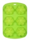 6 tazze di muffa di torta di silicone della muffa del vassoio della muffa di forma della muffa multifunzionale DIY della muffa della muffa dello stampo della muffa del sapone della muffa