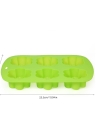 6 Cups Silicone Cake Mould Flower Shape Mold Tray Baking Tool Multifunction DIY Mould Soap Mould Pudding Jelly Mould