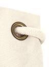 Große Kordelzug Baumwolle Leinwand Wäschesack Schmutzige Kleidung Aufbewahrungstasche mit Verstellbaren Schultergurt für Haus Waschsalon Reise