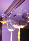 LED Air Balloon Festival Atmosphere Romantic String Lights Round Shape Bubble Kids Toy Party Decration Girlfriend and Boyfriend Gifts
