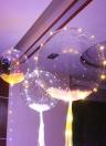LED Air Balloon Festival Atmosphère Chaîne Romantique Lumières Forme Ronde Bulle Enfants Jouet Partie Decration Petite Amie et Petit Ami Cadeaux